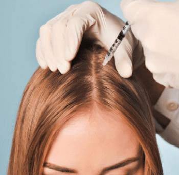 обкалывание волос